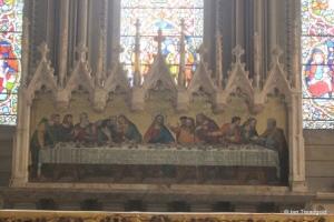 Luton - St Mary. Reredos.