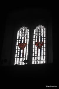 Luton - St Mary. Clerestory south window.