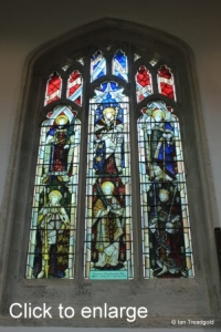 Leighton Buzzard - All Saints. North aisle, centre window.