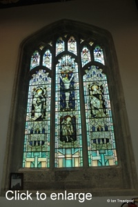 Leighton Buzzard - All Saints. North aisle, western window.