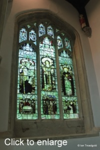 Leighton Buzzard - All Saints. North aisle, west window.