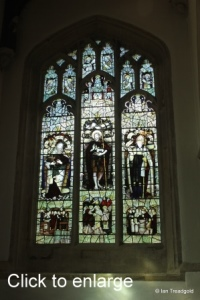 Leighton Buzzard - All Saints. South aisle, west window.