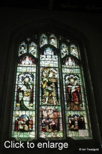 Leighton Buzzard - All Saints. South aisle, western window.