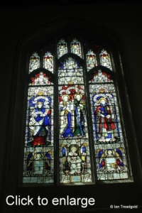 Leighton Buzzard - All Saints. South aisle, central window.