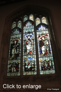 Leighton Buzzard - All Saints. South aisle, eastern window.