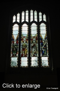 Leighton Buzzard - All Saints. South transept, south window.