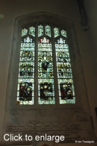 Leighton Buzzard - All Saints. South transept, south-east window.