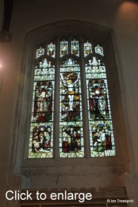 Leighton Buzzard - All Saints. South transept, north-east window.