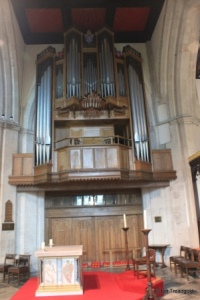 Leighton Buzzard - All Saints. Organ.