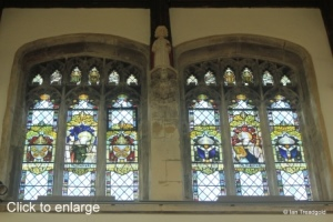 Leighton Buzzard - All Saints. Clerestory window.