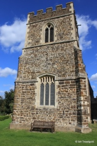 Linslade - St Mary. Tower from the west.