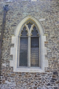 Linslade - St Mary. Nave, north-west window.