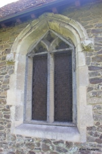 Linslade - St Mary. Chancel north window.