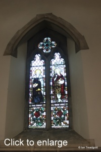Linslade - St Barnabas. North aisle stained glass.