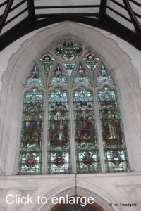 Linslade - St Barnabas. West window internal.