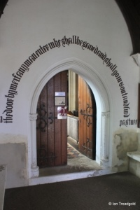 Maulden - St Mary. South doorway.