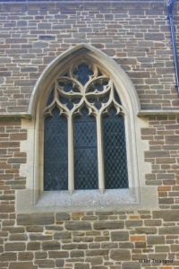 Maulden - St Mary. South aisle, central window.