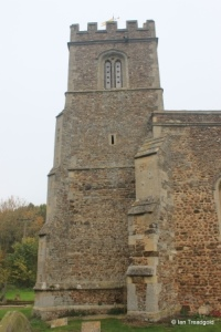 Little Barford - St Denys. Tower from the south.