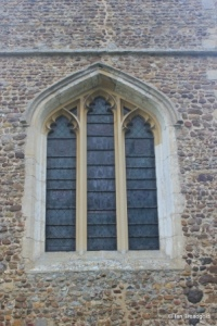 Little Barford - St Denys. West window.