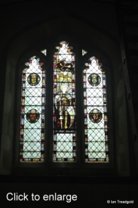 Little Barford - St Denys. West window internal.