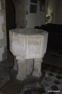 Little Barford - St Denys. Font.