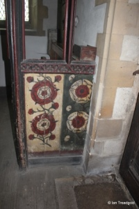 Little Barford - St Denys. Vestry screen.