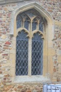 Little Staughton - All Saints. South aisle, east window.