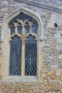 Little Staughton - All Saints. South aisle, west window.