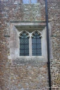 Little Staughton - All Saints. Nave, north window.