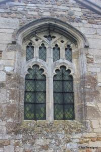 Little Staughton - All Saints. Organ chamber north window.