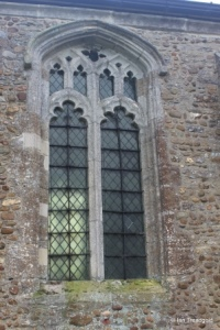 Little Staughton - All Saints. Chancel, north window.