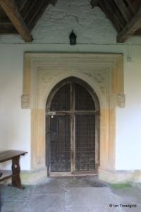Milton Bryan - St Peter. North doorway.