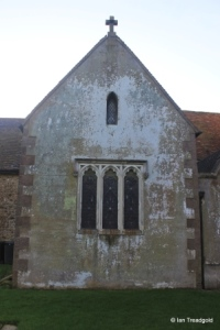 Milton Bryan - St Peter. North transept, north window.