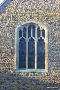 Milton Bryan - St Peter. East window.