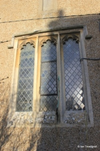 Milton Bryan - St Peter. South transept, south window.