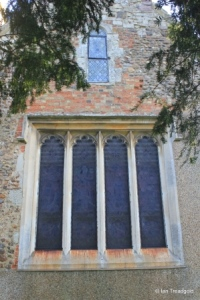 Milton Bryan - St Peter. West window.
