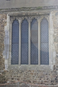 Meppershall - St Mary. North transept, north window.