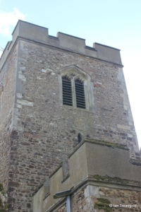Meppershall - St Mary. Tower from the north.