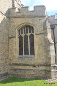 Milton Ernest - All Saints. South aisle, west window.