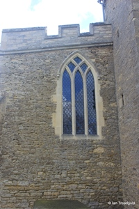 Milton Ernest - All Saints. North aisle, west window.