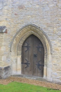 Milton Ernest - All Saints. North doorway.