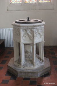 Milton Ernest - All Saints. Font.