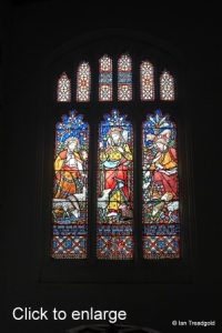 Milton Ernest - All Saints. South aisle, west window internal.