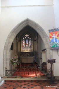 Milton Ernest - All Saints. Chancel arch.