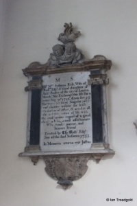 Milton Ernest - All Saints. North aisle, Susanna Rolt memorial.