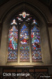 Milton Ernest - All Saints. East window internal.