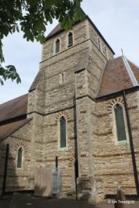 Moggerhanger - St John. Tower from the south.