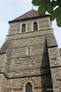 Moggerhanger - St John. Tower from the south.