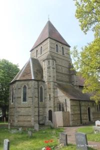 Moggerhanger - St John. Tower from the north-east.