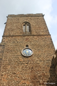 Northill - St Mary the Virgin. Tower from the south.